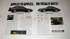 1995 Subaru Legacy 2.5 GT Ad - Apples to Apples?