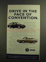 1994 Saab 900 SE Turbo Coupe and 900 Convertible Ad