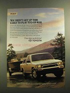 1993 Toyota Xtracab Deluxe V6 Pickup Truck Ad