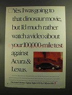 1993 Oldsmobile Eighty Eight LSS Car Ad!