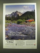 1993 Jeep Cherokee Advertisement - Comes With Its Own Lure
