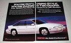 1992 Pontiac Grand Prix SE Sedan Ad - Not Losing Style