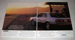 1990 Mazda 929S Car Ad - Luxury Measured in Hours