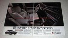 1988 Oldsmobile Touring Sedan Ad - Ergonomics