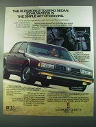 1988 Oldsmobile Limited Edition Touring Sedan Ad