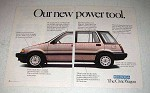 1986 Honda Civic Wagon Ad - Our New Power Tool