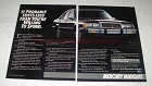 1984 Mercury Marquis Ad - Probably Costs Less