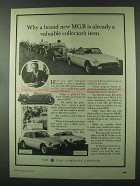 1981 MG MGB Tourer and MGB GT Ad - Collector's Item