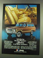 1978 Jeep Wagoneer Limited Ad - Cut Above Excellence