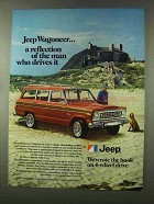 1977 Jeep Wagoneer Ad - A Reflection of the Man