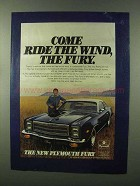 1976 Plymouth Fury Ad - Come Ride the Wind