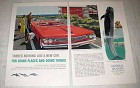 1960 GM Pontiac Bonneville Convertible Coupe Ad