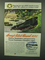 1944 Studebaker Weasel M29C Ad - Amazing War Vehicle