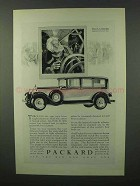 1928 Packard Cars Advertisement - Avoid Errors of Human Senses