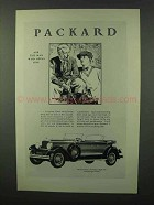 1928 Packard Eight 645 Five-Passenger Phaeton Ad