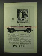 1927 Packard Cars Ad - Dependability