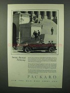 1926 Packard Cars Ad - Serving America's Aristocracy