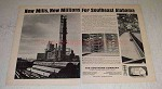 1966 The Southern Company Ad - New Mills, New Millions