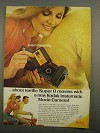 1966 Kodak Instamatic M2 Movie Camera Ad - Instantly
