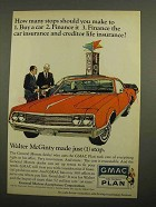 1966 GMAC Time Payment Plan Ad - How Many Stops