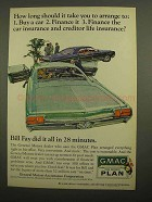 1966 GMAC Time Payment Plan Ad - How Long