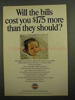1966 Savings and Loan Associations Ad - The Bills