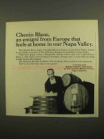 1966 The Christian Brothers Chenin Blanc Wine Ad