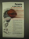 1966 Permatex Ad - Spray-A-Gasket, Brushable