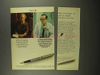 1966 Parker 75 Pen Ad - The Gift