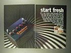1966 United Delco Energizer Battery Ad - Start Fresh