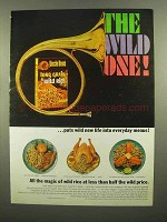 1965 Uncle Ben's Long Grain & Wild Rice Ad - Wild One
