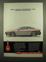 1993 STP Gas Treatment Ad - Everything's Cool