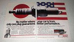 1992 Bosch Platinum Spark Plugs Ad - No Matter Where