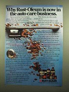 1985 Rust-Oleum Ad - Body Filler, Touch-up Paint