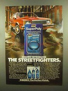 1982 Simoniz SuperPoly Ad - The Streetfighters