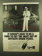 1979 Autolite Spark Plugs Ad - Doesn't Have to be Ford