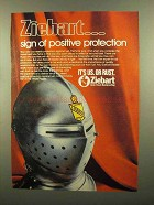 1978 Ziebart Rustproofing Ad - Positive Protection
