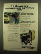 1977 AC-Delco Parts Ad - A Little Car Now Save Worries