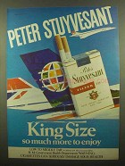1977 Peter Stuyvesant King Size Cigarettes Ad - Enjoy