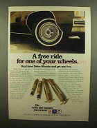 1975 AC-Delco Shocks Ad - A Free Ride for Wheels