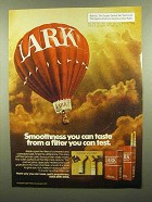 1974 Lark Cigarettes Ad - Smoothness You Can Taste