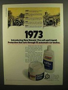 1973 Simoniz Car Wax Ad - Pre-Soft and Liquid