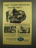 1953 Ford Parts Ad - 12 Years Old and Runs Like New