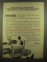 1965 Xerox Copiers Ad - When The Meter Stops Clicking