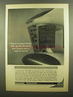 1965 Kodak Recordak Microfilm Ad - A Honey-Blond