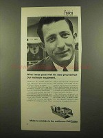 1965 Friden-Ertma Mail Inserters Ad - Keeps Pace With