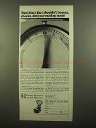1965 Pitney-Bowes S-120 Scale Ad - Shouldn't Bounce