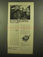 1965 Pitney-Bowes Postage Meter Ad - Gerosa Haulage