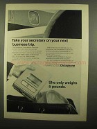 1965 Dictaphone Travel-Master Ad - Take Your Secretary
