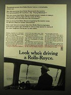 1965 Rolls-Royce Ad - Diesel-Powered Pilot Launch